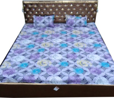 Bedsheetze Cotton Printed Double Bedsheet