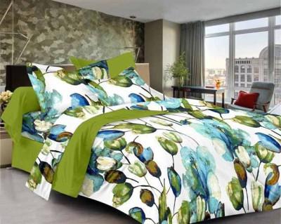SEJ by Nisha Gupta Cotton Floral Single Bedsheet