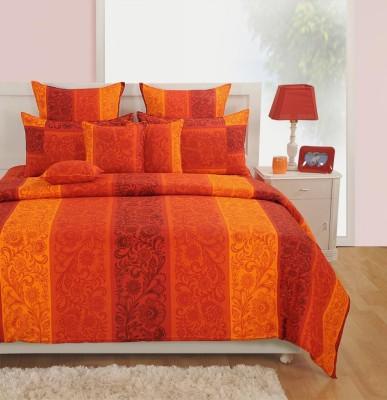 Swayam Cotton Floral Double Bedsheet