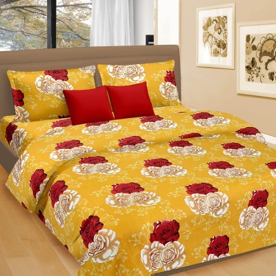 Cortina Cotton Floral Double Bedsheet