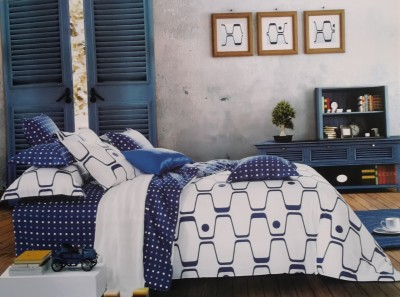 Reliable Polycotton Abstract Double Bedsheet