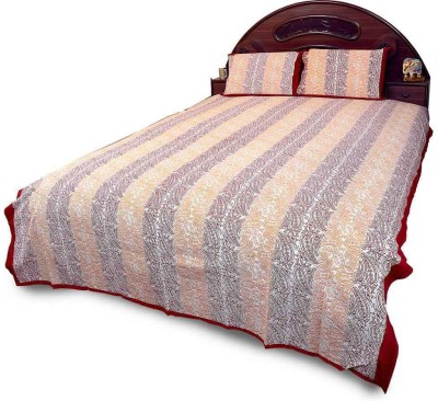 Great Art Cotton Printed Double Bedsheet