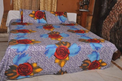 Unnati Cotton Abstract King sized Double Bedsheet