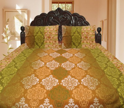 Lao - Lao Cotton Floral King sized Double Bedsheet
