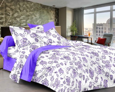 Classic Furnishing Plus Satin Printed Double Bedsheet