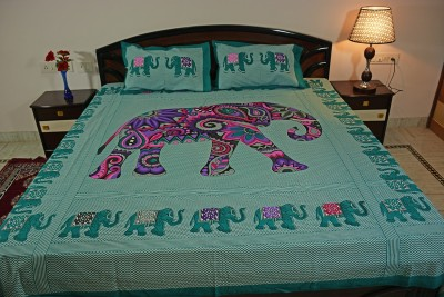 N DeCor Cotton Printed Double Bedsheet