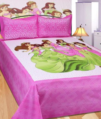 Rangasthali Cotton Printed Double Bedsheet
