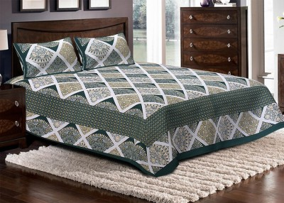 Metrocraft Cotton Printed Double Bedsheet