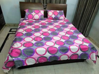 stylus Cotton Geometric Double Bedsheet