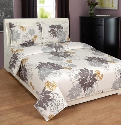 Zesture Cotton Floral Double Bedsheet