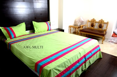 AWWESOME Cotton Printed Double Bedsheet