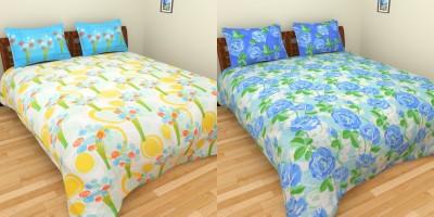 Birla Century Cotton Printed Double Bedsheet