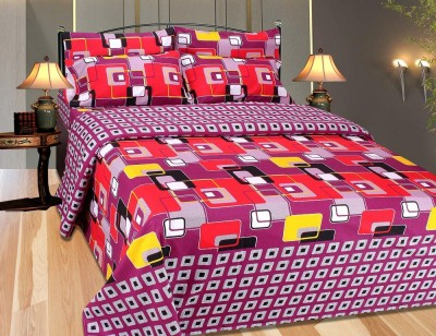 Artha Cotton Printed Double Bedsheet