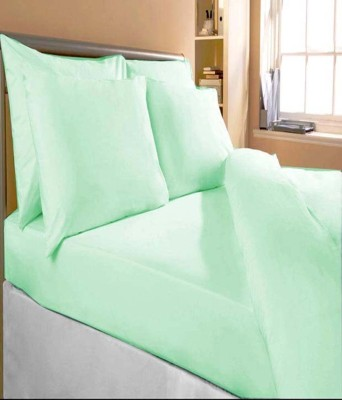 Bansal Yarn Cotton Plain Double Bedsheet