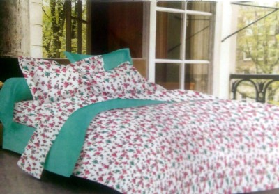 BHD Cotton Floral Double Bedsheet