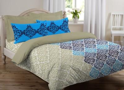 JCT Homes Cotton Floral Single Bedsheet
