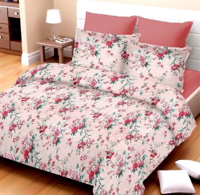 Kunal Cotton Floral Double Bedsheet