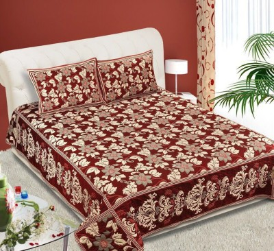 GARIMA 3 STAR Cotton Abstract Double Bedsheet