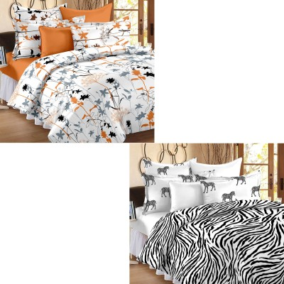 Story @ Home Cotton Floral Double Bedsheet