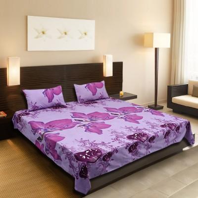Lira Polycotton Floral Double Bedsheet