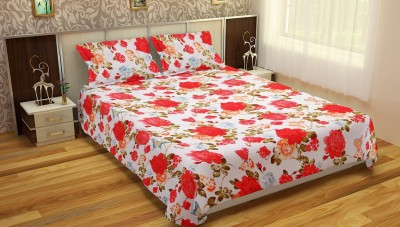 Aashiyana Sajona Polycotton Floral Double Bedsheet