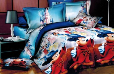 Balaji Creations Polycotton Self Design Double Bedsheet