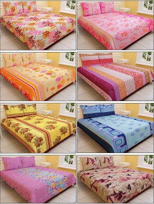 SGP-09 Polyester Printed Double Bedsheet