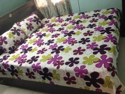 Prakki Cotton 3D Printed Double Bedsheet