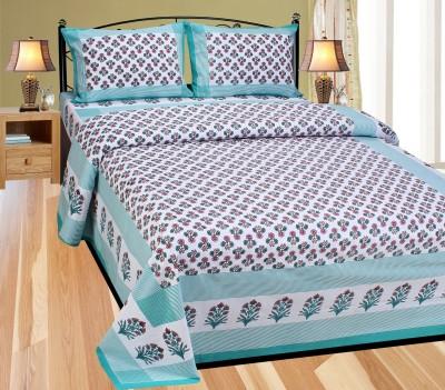 Creativezone Cotton Printed Double Bedsheet