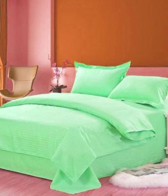 Ridhaan Cotton Plain Double Bedsheet