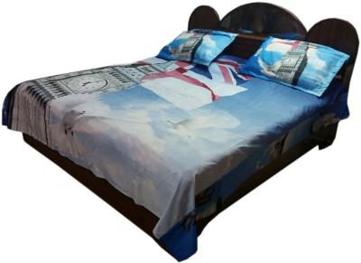 Shreem 2015 Polycotton 3D Printed Double Bedsheet