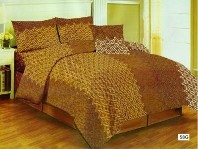 JORDEN Cotton Printed Double Bedsheet