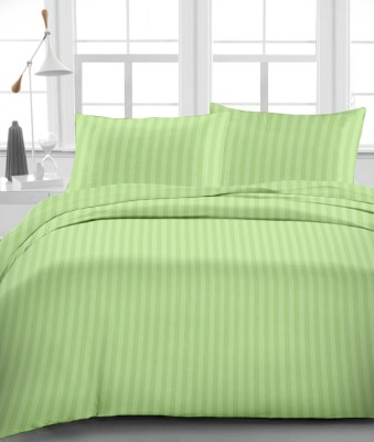 Urbano Homz Satin Striped King sized Double Bedsheet
