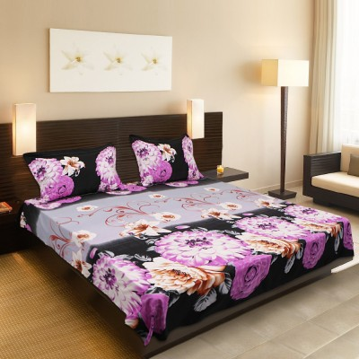 Roots Cotton Floral Queen sized Double Bedsheet