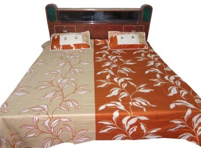 Shreeka Cotton Printed Double Bedsheet