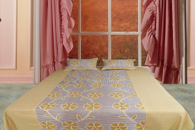 Spree Cotton Printed Double Bedsheet