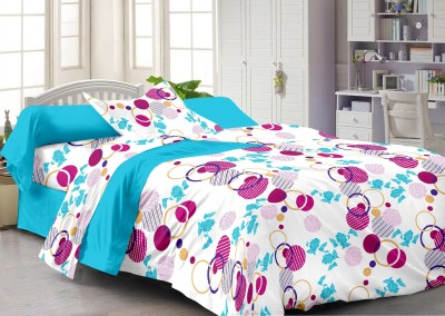 Story @ Home Cotton Abstract Single Bedsheet