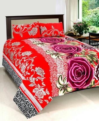 Sandhya Cotton Floral Double Bedsheet
