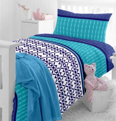 Home Ecstasy Cotton Geometric Single Bedsheet