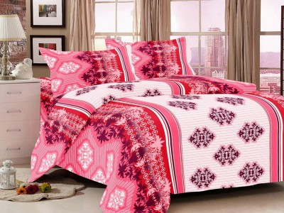 S4S Cotton Printed Double Bedsheet