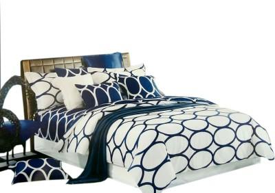 Shreem 2015 Polycotton Geometric Double Bedsheet