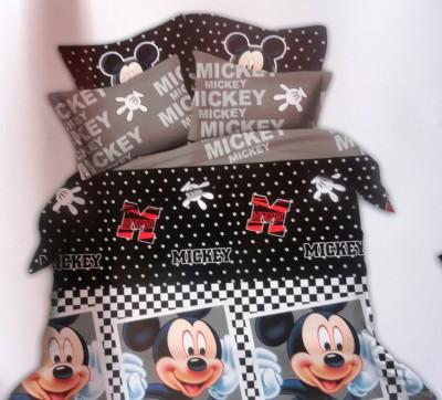 Amk Home Decor Polycotton Printed Double Bedsheet