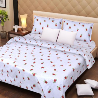 AZ Cotton Printed Double Bedsheet