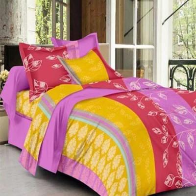Goodkarma Cotton Geometric Double Bedsheet