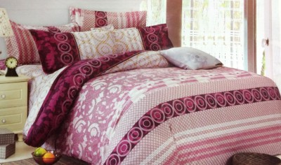 Maxx Home Polycotton Abstract Double Bedsheet