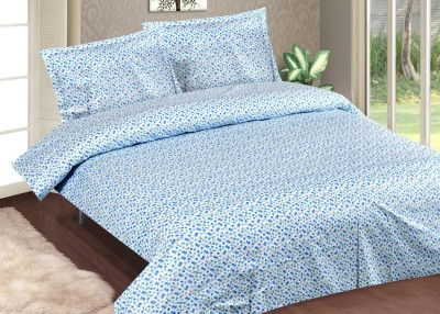 Casa Basics Cotton Printed Queen sized Double Bedsheet