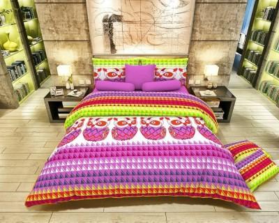 MN Decor Cotton Animal Double Bedsheet
