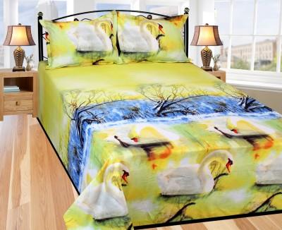 Azaani Polycotton Animal King sized Double Bedsheet