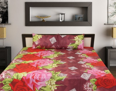 ahmedabad print Cotton Floral King sized Double Bedsheet