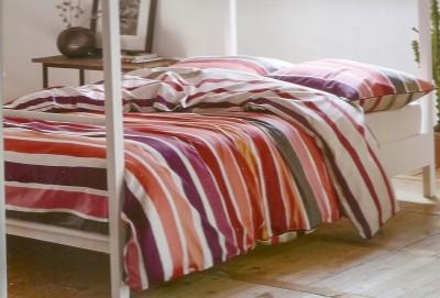 Esprit Cotton Striped King sized Double Bedsheet